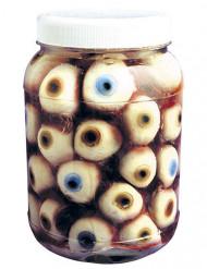 Topf gefüllt mit Augen Halloween