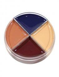 Make-up Palette für Wunden 4 Farben Halloween