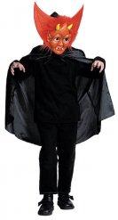 Teufel-Kostüm mit Maske für Kinder Halloween