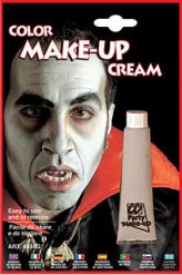 Schauriges Make-up für Halloween Grau 28ml