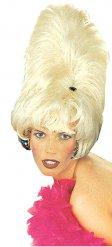 Turmfrisur Perücke für Damen Beehive blond