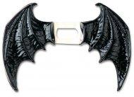 Flügel aus schwarzem Vinyl-Daemon Erwachsene Halloween