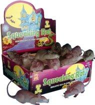 Rattenfigur im Dunkeln leuchtend Halloween-Deko