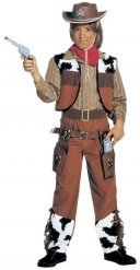 Kostüm Cowboy braun Junge