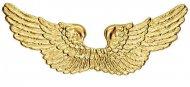 Engels-Flügel weihnachtliches-Accessoire gold 88x25cm