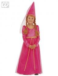 Fee-Prinzessin Kostüm für Mädchen pink-gold