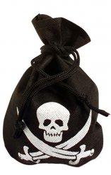 Schwarz-Piraten-Tasche mit dem Totenkopf