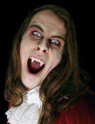 Klassische Vampirzähne Halloween weiss
