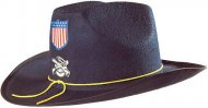 Hut Offizier Konföderierte Staaten