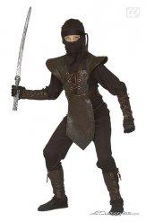 Ninja Kostüm für Kinder braun