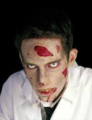 Horror-Wunde Latex Applikation Halloween-Spezialeffekt rot