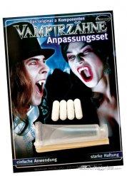 Vampir-Zähne Nachfüll-Set Halloween-Zubehör