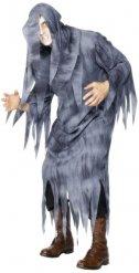 Graues Geister-Kostüm für Erwachsene Halloween