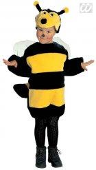 Bienen-Kostüm für Kinder Tier-Verkleidung schwarz-gelb