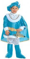 Prinz- Kostüm blau und gold Kinder