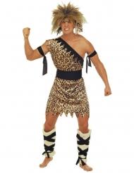 Höhlenmann Kostüm braun Erwachsene