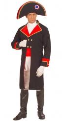Napoleon Kostüm für Herren dunkelblau-rot