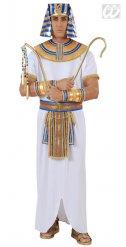 Ägyptisches Pharao Kostüm weiß Herren