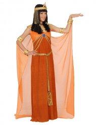 Cleopatra Kostüm Orange Damen