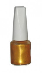Zahnlack Make-Up Zubehör gold