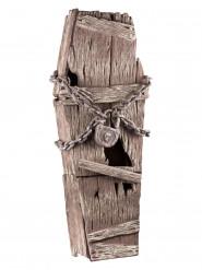 Holzsarg mit Ketten 39x150cm
