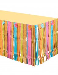 Hawaii Tischverkleidung mehrfarbig 2,80 m