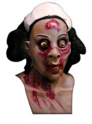 Zombie Krankenschwester Maske Halloween