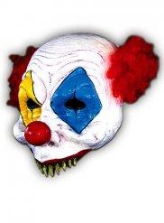 Horror-Clownmaske Halloween Zirkus Kostümzubehör bunt