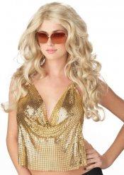 Glamouröse blonde Perücke Damen