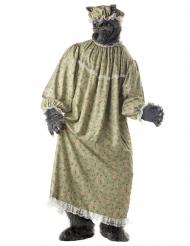 Großmutter Kostüm böser Wolf für Erwachsene