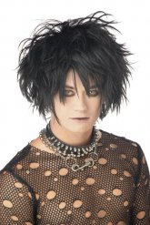 Gothic schwarze Perücke Erwachsene