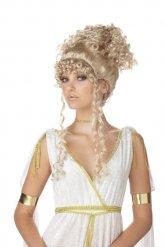 Blonde Perücke griechische Göttin Damen