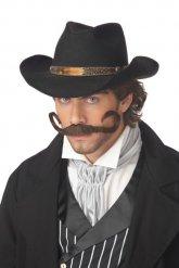 Cowboy-Schnauzer für Erwachsene braun