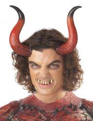 Teufel Hörner und Zähne Erwachsene