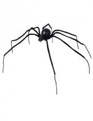 Schwarze Spinne 110 cm Halloween