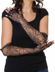 Spinnenweben Handschuhe