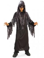 Ghoul Sensenmann-Kinderkostüm Halloween schwarz-grau