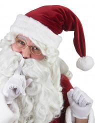 Zipfelmütze Weihnachtsmann rot-weiss