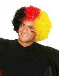 Fanartikel Afro-Perücke Deutschland schwarz-rot-gelb