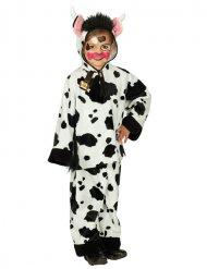 Kuh-Tierkostüm für Kinder weiss-schwarz