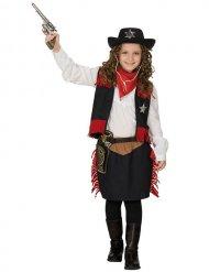 Western Kostüm Cowgirl für Mädchen