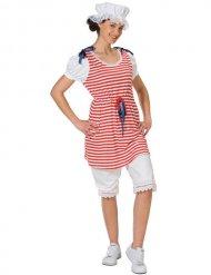 Retro-Badeanzug Kostüm für Damen