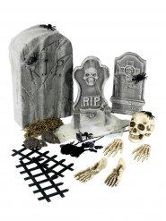 21-teiliges Halloween-Deko-Set bunt