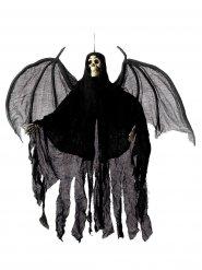 Skelett Hängedeko mit Flügeln Halloween