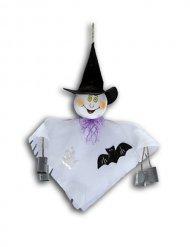 Kleiner Geist zum Aufhängen Halloween-Dekoration 33 cm