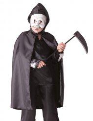 Kleiner Sensenmann Kinderkostüm Halloween schwarz-weiss