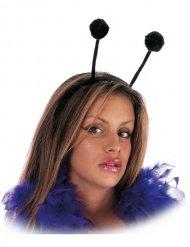Stirnband mit schwarzen Antennen Erwachsene