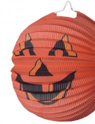Halloween-Lampion - Kürbiskopf - orange
