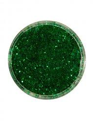 Schachtel mit grünem Glitzer 2g