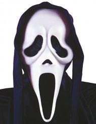 Geistermaske Serienkiller Kostümzubehör Halloween schwarz-weiss